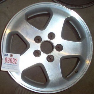 HONDA 98 00 ACCORD ALLOY WHEEL/RIM 1998 1999 2000 5 SPK