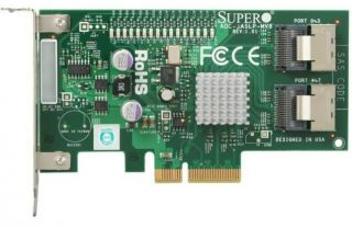 SUPERMICRO AOC SASLP MV8 Low Profile SAS RAID Controller   OPEN BOX