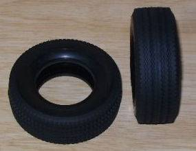 Super Single Tyres Tamiya 1/14 Truck Reefer & 40ft Container Trailer