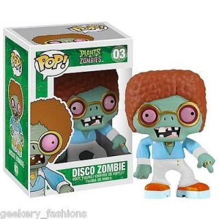 NIB Plants vs. Zombies Disco Zombie Pop Vinyl Figure by Funko #03
