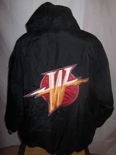 Golden State WARRIORS NBA JACKET UNK Mens SEWN IN Black 4XL NWT