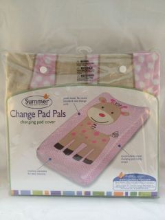 Summer Infant   Plush Change Pad Pals Changing Pad Cover, Giraffe BNIB