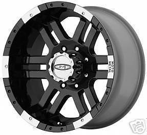 17 Inch BLACK Moto Metal 951 WHEELS Chevy Dodge GMC 2500 FORD 8 LUG