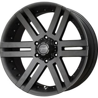 20 Black MB Vortex Wheels Rims 5x139.7 5 Lug Dodge Ram Dakota Durango