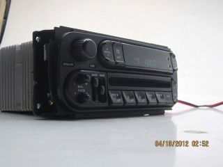 2001   2006 DODGE CHRYSLER CD PLAYER RADIO STEREO Ram, Neon, Durango