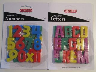 Magnetic numbers and Letters/alphabet for kids TOYS