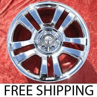 22 FORD F 150 HARLEY DAVIDSON CHROME OEM WHEELS RIMS EXCHANGE 3645