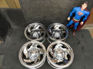 16 Chrome Ford F150 Rims Expedition Wheels 97 98 99 00 OEM Steel
