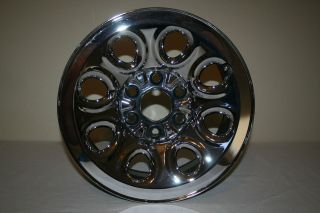 OEM Chevy 6 Lug 17 X 7.5 Pick Up Truck Chrome Wheel/Rim VERY NICE