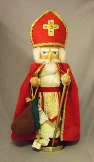 Steinbach Germany Kurt Adler Ltd Ed Christmas Legends nutcracker   St
