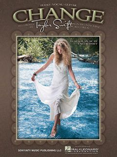 by Taylor Swift Country Piano Sheet Music Guitar Chords Lyrics NEW