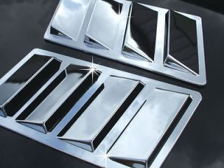 Chrome Jeep Compass Cherokee Liberty Patriot Hood Scoop Side Vent Port