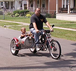 Schwinn OCC Chopper Bicycle Exhaust MOD Kit