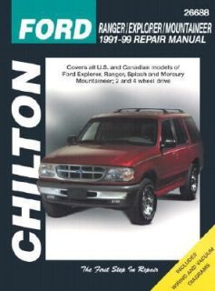 Ford Ranger, Explorer, and Mountainer, 1991 99 by Chilton Automotive