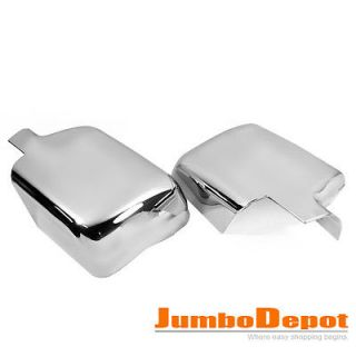TRIPLE CHROME SIDE MIRROR COVER TRIM KIT FOR FORD F 150 F150 2004 2008