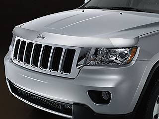 JEEP GRAND CHEROKEE 2011 2012 OEM TINTED AIR DEFLECTOR W/ JEEP LOGO