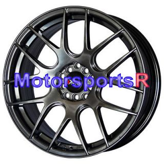 Chromium Black Concave Wheels Rims 03 04 06 08 09 Acura TL CL TSX RSX