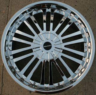 buick enclave chrome wheels in Wheels