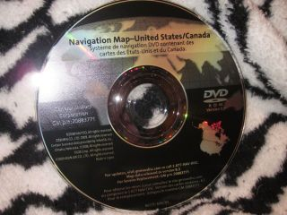 GM Cadillac Navigation Map Disc DVD 20883771