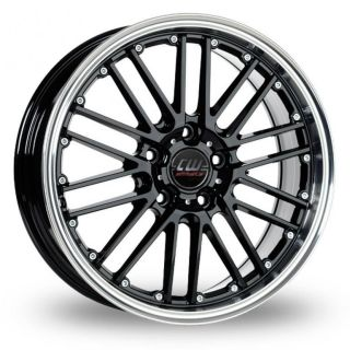 17 CW (by Borbet) CW2 Alloy Wheels & Nankang NS 20 Tyres