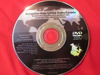 GM Navigation Map Disc DVD 225956691 U