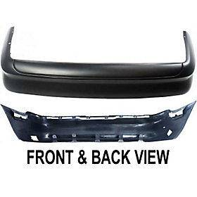 FORD MUSTANG 94 98 REAR BUMPER COVER, Primed,Except Cobra Model (Fits
