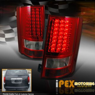 08 10 Dodge Grand Caravan Chrysler Town Country RED LED Brake Signal