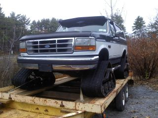 Ford  Bronco XLT Lariat Sport Utility 2 Door 1993 Bronco with
