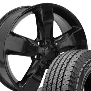 20 Black Jeep Grand Cherokee Wheels Rims Set of 4 OEM Rims 9107