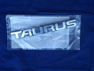 Ford TAURUS Nameplate Emblem Badge F2DZ5442528B (Fits Ford Taurus