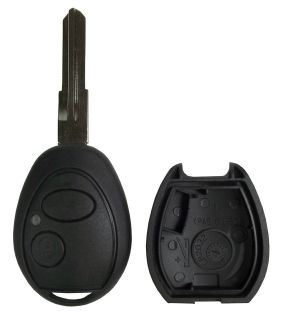 LAND ROVER UNCUT REMOTE KEY FOB REPLACEMENT CASE BLADE SHELL REPAIR