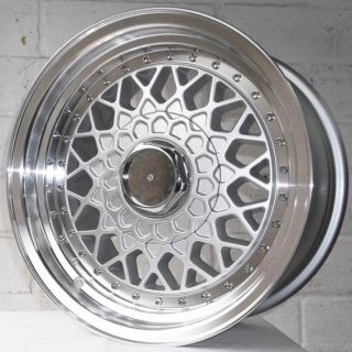 15 MITSUBISHI FTO 1994 2001 JAERO OS3 STAGGERED ALLOY WHEELS 5x114