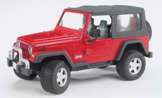 JEEP WRANGLER UNLIMITED FROM BRUDER TOYS 02520