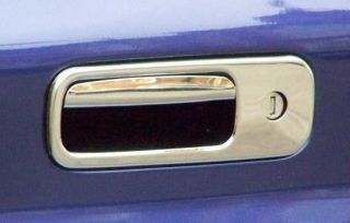 VW POLO LUPO CHROME STAINLESS STEEL TRUNK BOOT HATCH LID DOOR HANDLE