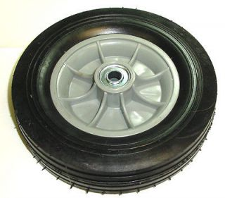 Hand Truck Tire with Offset Hub Semi Pneumatic 10 x 2 3/4 Wheel with