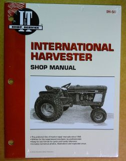 New International Harvester IH Service Manual Cub 184 & 185 Lo Boy #IH