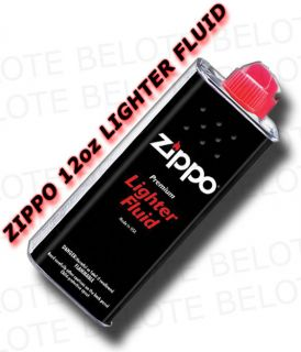 Genuine Zippo 12 oz 355ml Lighter Fluid Premium Fuel