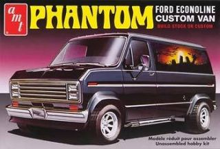 AMT 1/25 SCALE 1976 FORD ECONOLINE CUSTOM VAN PHANTOM PLASTIC MODEL