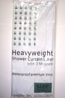 heavy duty shower curtain in Shower Curtains