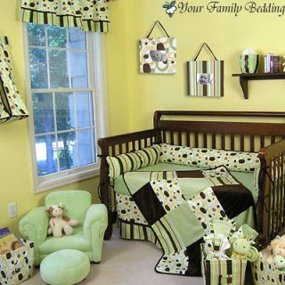 Dot Baby Boy Girl Neutral Kid Crib Nursery Collection Bedding Set