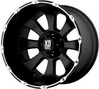 20 X 12 XD799 ARMOUR 5X135 EXPEDITION NAVIGATOR BLACK WHEELS RIMS