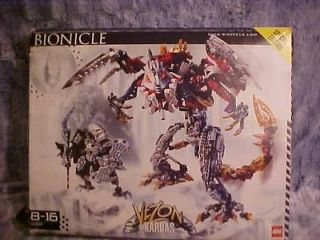 Lego Bionicle Boxed Set 10204 Kardas Dragon & Vezon Complete