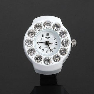size Ajustable for Womens Lady Girl Kid Jewelry Bling Crystal Watch