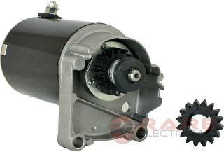 STARTER MOTOR BRIGGS & STRATTON 14 16 18 HP STARTER 497596 V TWIN WITH