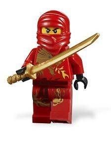 LEGO NINJAGO Red Ninja KAI DX Dragon with golden weapon 2518 new