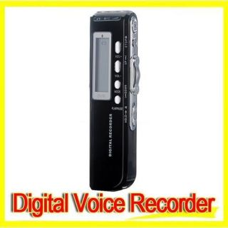 4GB USB 650Hr Digital Voice Telephone Recorder Dictaphone  Player