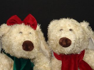 OF ANIMAL ALLEY PLUSH DARLA DARBY CHRISTMAS DOG  PUPPY DOGS