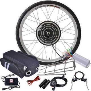Front Wheel Electric Bicycle Motor Kit E Bike Cycling Hub Conversion
