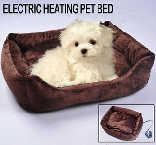"New 23.6"" Electric Dog Cat Heat Pet Bed Pad Warmer House Litter"
