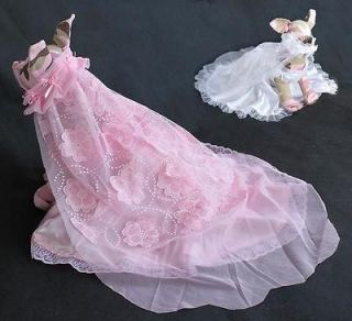 Dog Dresses Pet Clothes Elegant Wedding Gown Dog Full Dress Clothing
